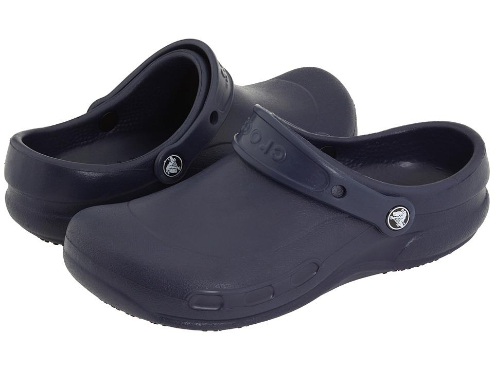 Crocs - Bistro (Unisex) (Navy) Clog Shoes
