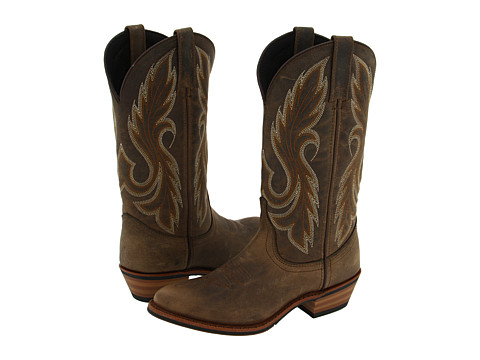 Laredo - Cedar Street (Dusty Aged Saddle) Cowboy Boots