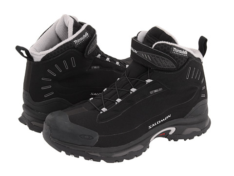 Salomon - Deemax 2 Dry (Black/Black/Aluminum) Women
