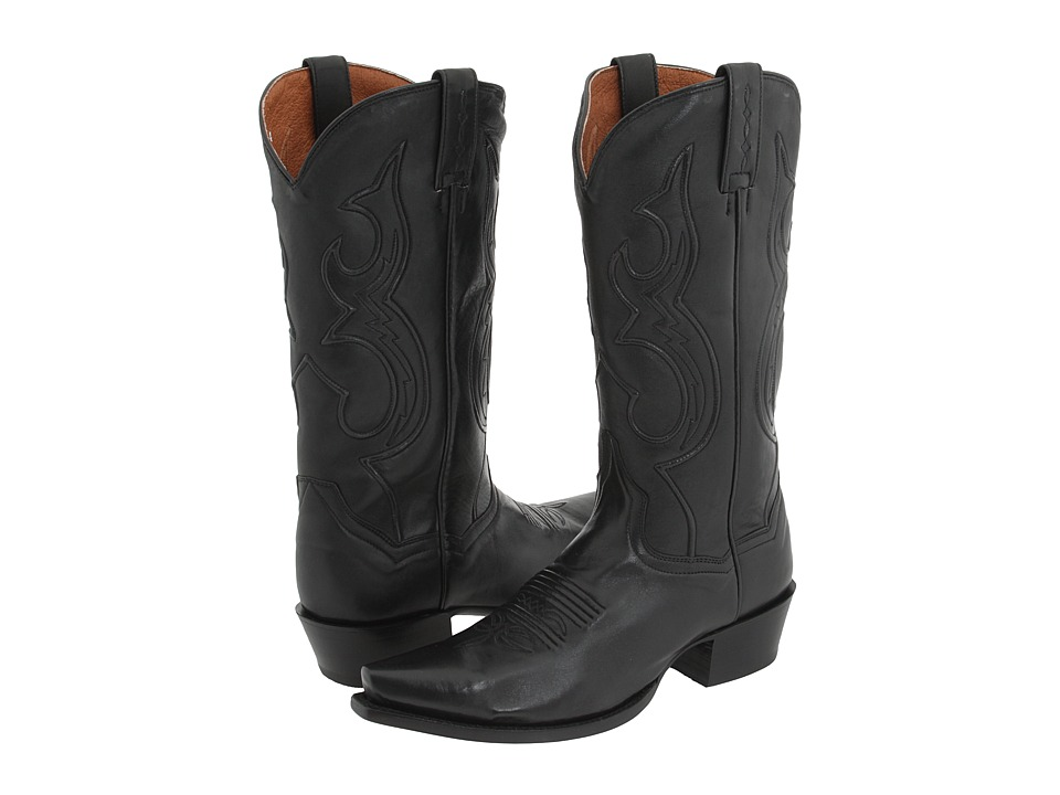 Dan Post - Bexar (Black Saddle) Cowboy Boots