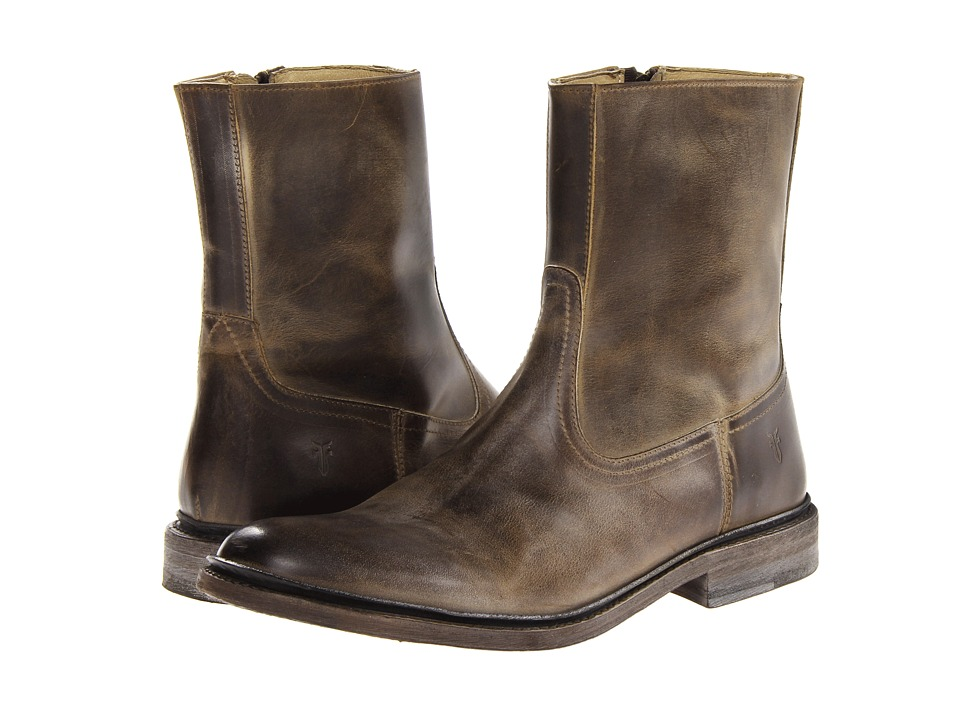 Frye James Inside Zip (Tan) Men