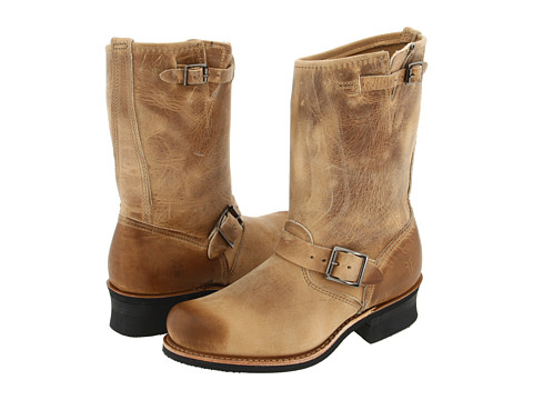 Frye - Engineer 12R (Sand) Women's Pull-on Boots