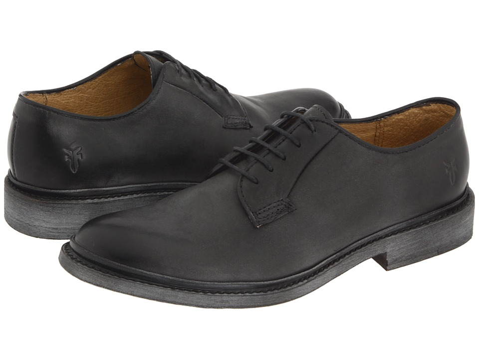 Frye - James Oxford (Black Vintage Leather) Women's Lace up casual Shoes