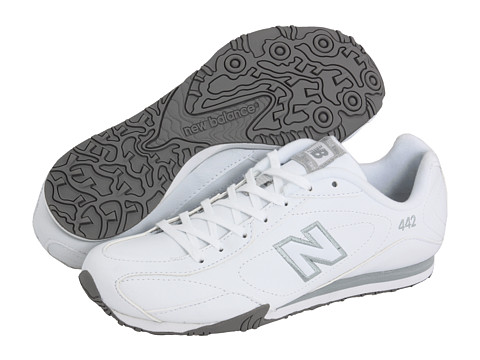 white new balance 442 shoes