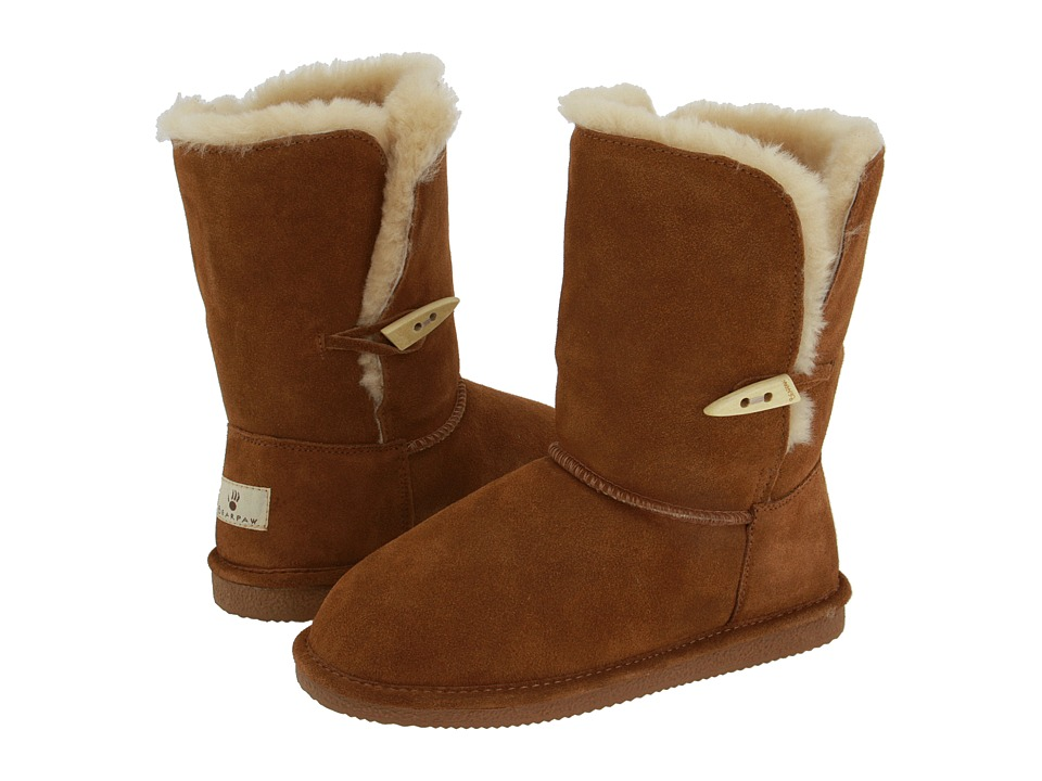Bearpaw - Victorian (Hickory Suede) Women's Pull-on Boots