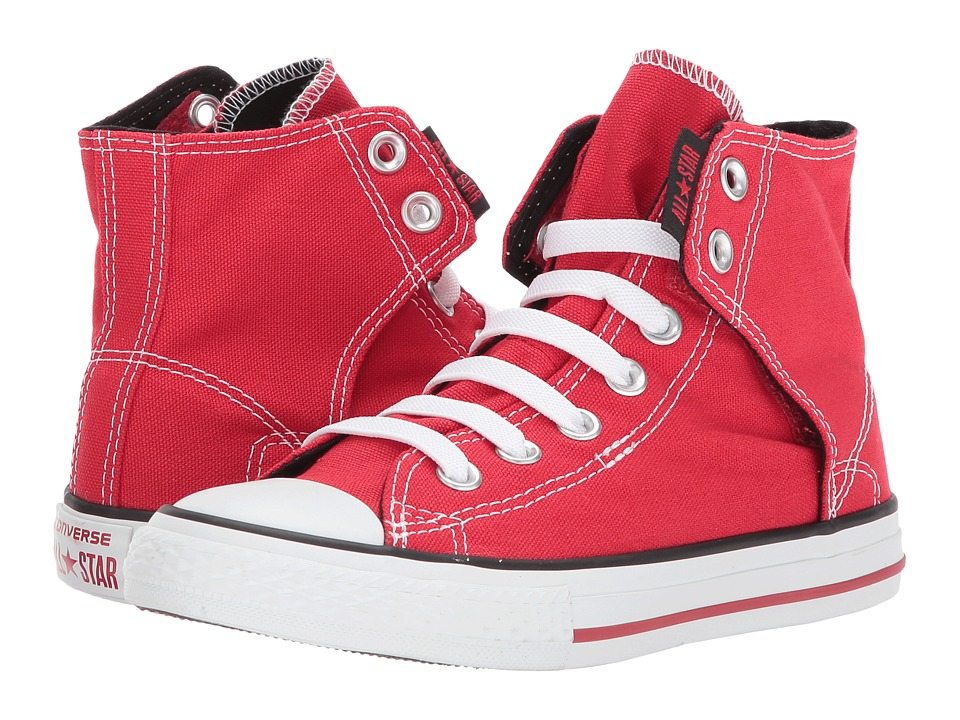 Converse Kids Chuck Taylorreg All Starreg Easy Slip (Little Kid/Big Kid) (Red) Boys Shoes