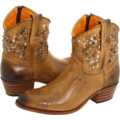 Frye Deborah Studded (Tan Leather) Footwear