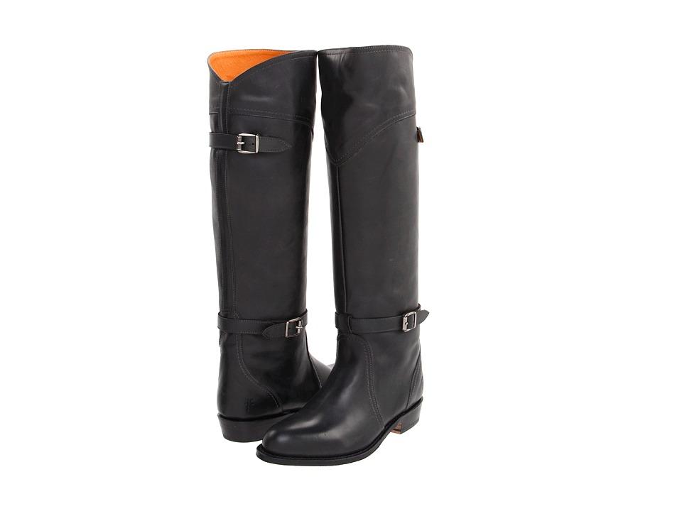 Frye - Dorado Riding (Charcoal Leather) Women