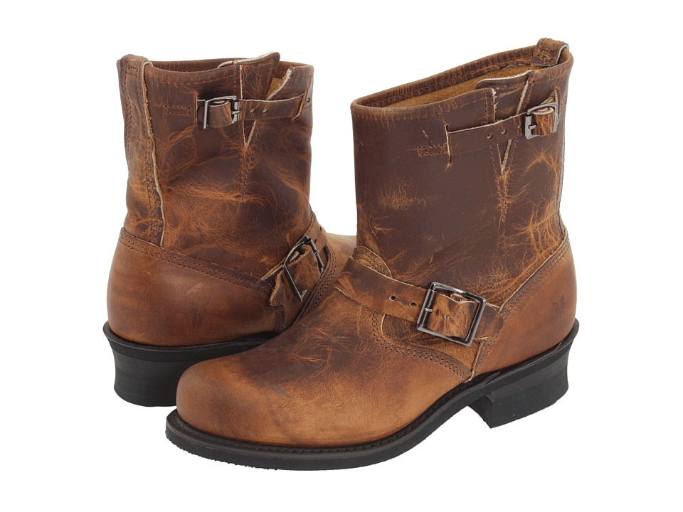 Frye - Engineer 8R (Dark Brown) Women's Pull-on Boots