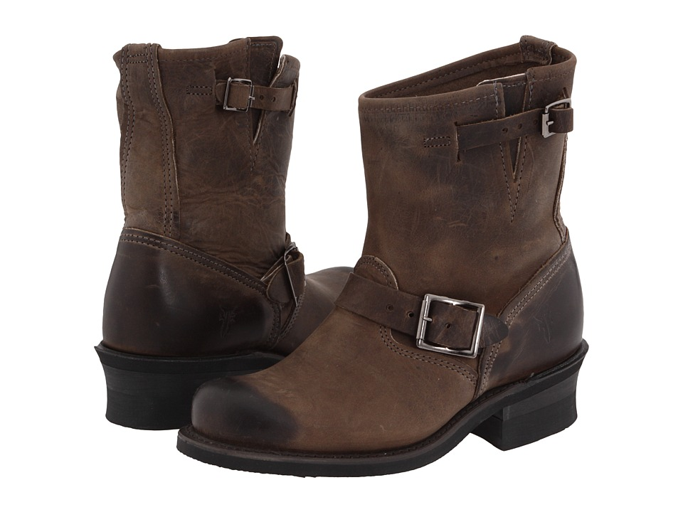Frye - Engineer 8R (Smoke) Women's Pull-on Boots