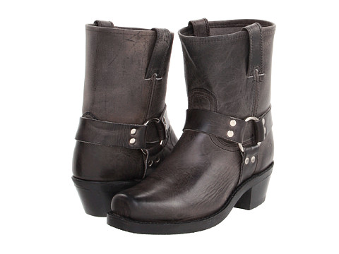 Frye - Harness 8R (Charcoal Old Town) Women