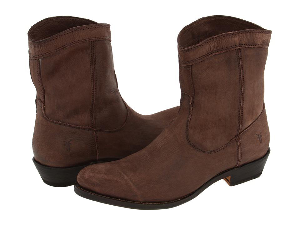 Frye - Rider Short (Dark Brown Full Grain Leather) Women