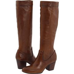 Frye Rory Scrunch Boot (Brown Vintage Leather) Footwear