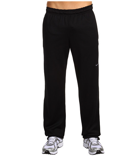Nike - KO Polyester Fleece Pant (Black/(Flint Grey)) Men's Fleece