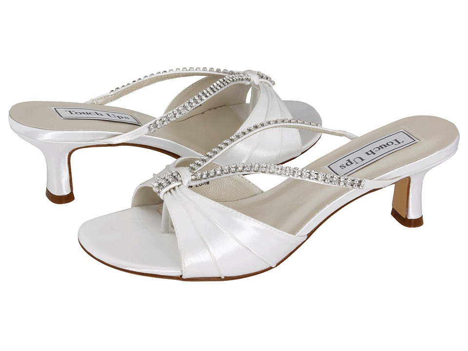 Touch Ups - Phoebe (White) Women's Bridal Shoes