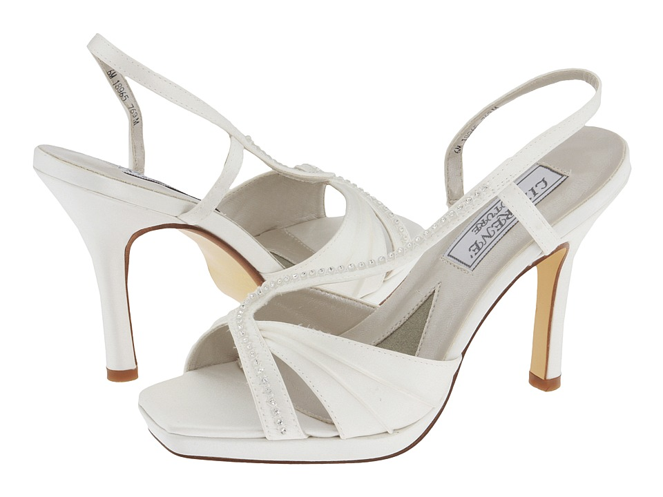 Touch Ups - Colette (White) Women's Bridal Shoes