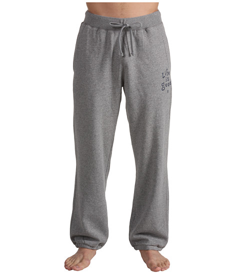 Life is good - Softwash Sweatpants (Heather Grey) Men