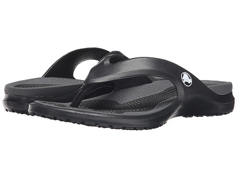 Crocs - MODI Flip (Black/Graphite) Sandals