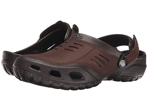 Crocs - Yukon Sport (Espresso/Espresso) Men's Clog Shoes