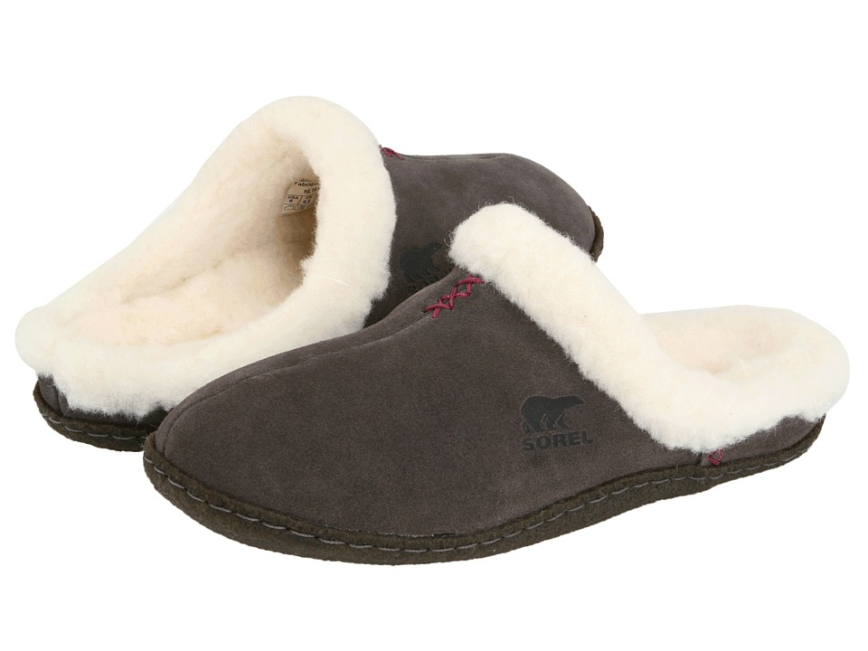 SOREL - Nakiskatm Slide (Shale/Tarte) Women's Slippers