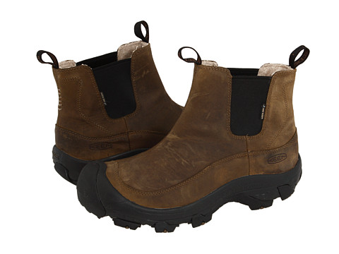 Keen - Anchorage Boot (Dark Earth/Shitake) Men's Cold Weather Boots