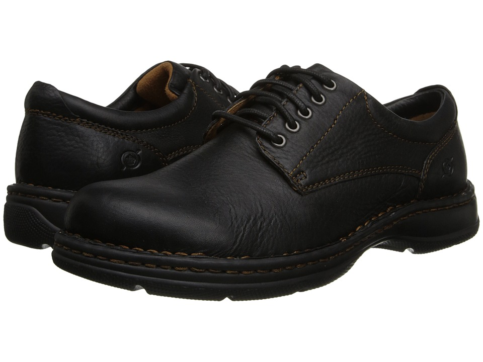 ... UPC 884093412113 product image for Born Hutchins II (Black Leather)  Men's Lace up casual ...