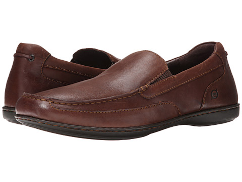 Born - Paine (Nut/Dark Brown Leather) Men's Shoes