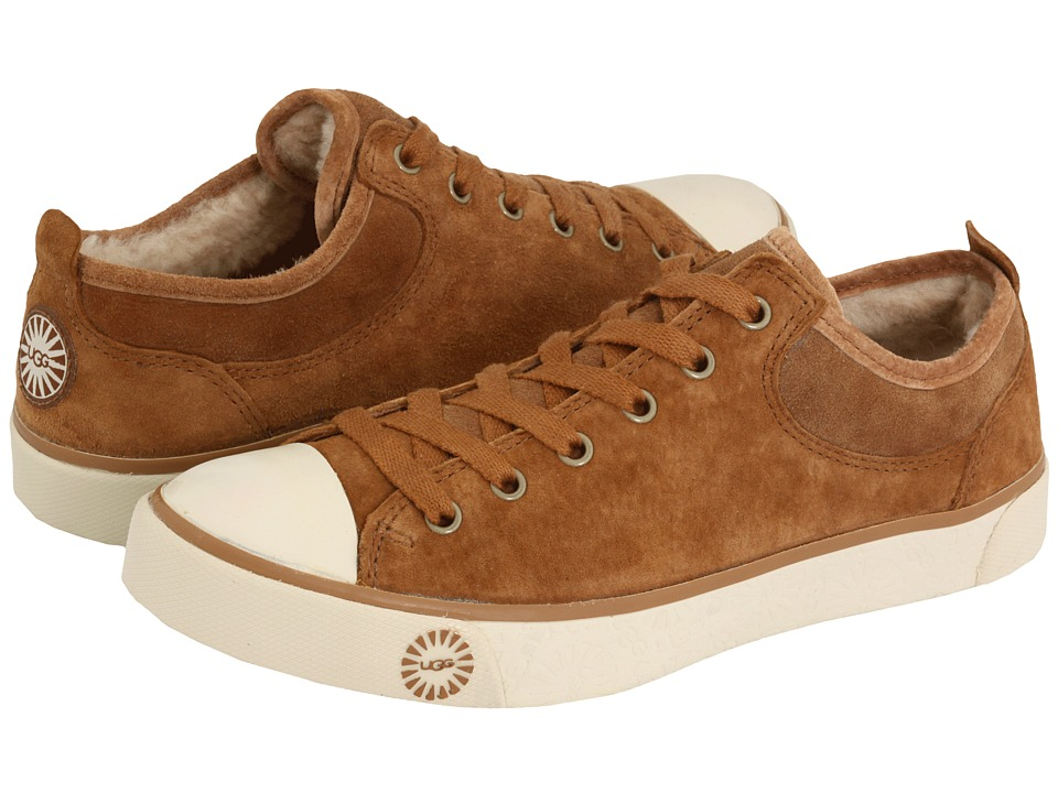 UGG - Evera (Chestnut Suede) Women's Lace up casual Shoes
