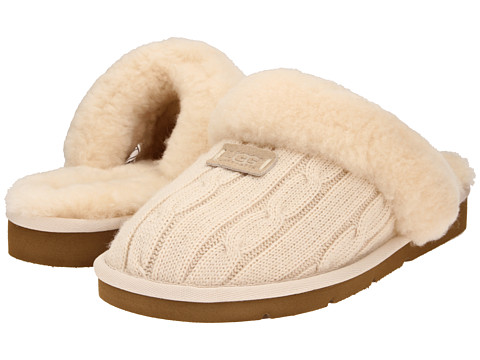 UGG - Cozy Knit (Cream) Women's Slippers