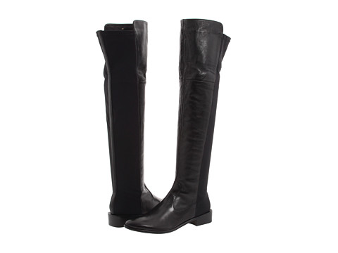Vaneli - Rankin (Black Nappa w/Black Stretch) Women's Zip Boots