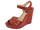 Frye - Corrina Campus Wedge (Burnt Red) - Footwear