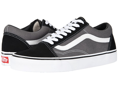 Vans - Old Skool Core Classics (Black/Pewter) Shoes