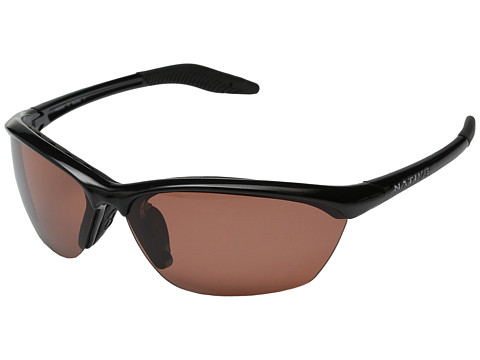 Native Eyewear - Hardtop (Iron/Copper Polarized Lens) Sport Sunglasses