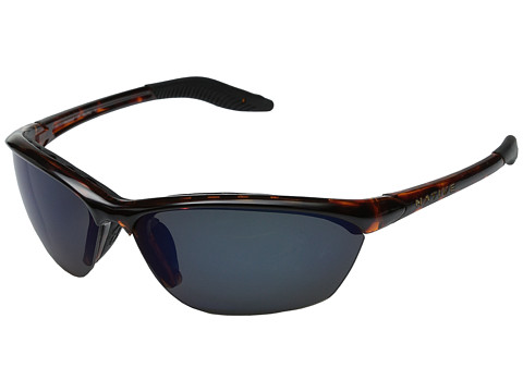 Native Eyewear - Hardtop (Maple Tort/Blue (Gray) Reflex Polarized Lens) Sport Sunglasses