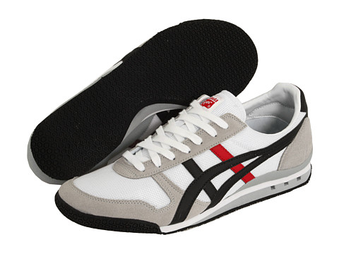 Onitsuka Tiger by Asics - Ultimate 81 (EXCLUSIVE! White/Black/Fire) Classic Shoes