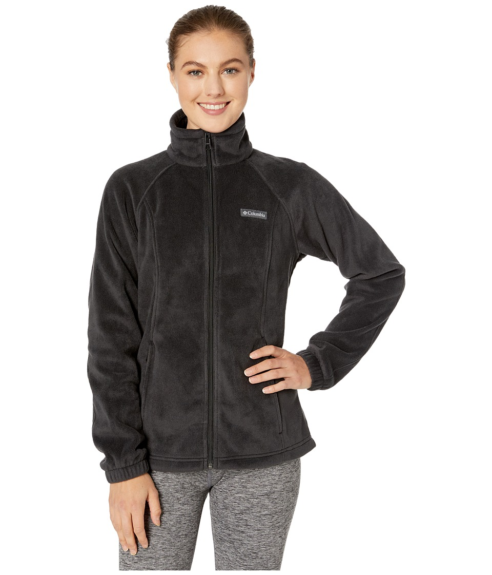 Columbia - Benton Springs Full Zip (Black) Women's Jacket