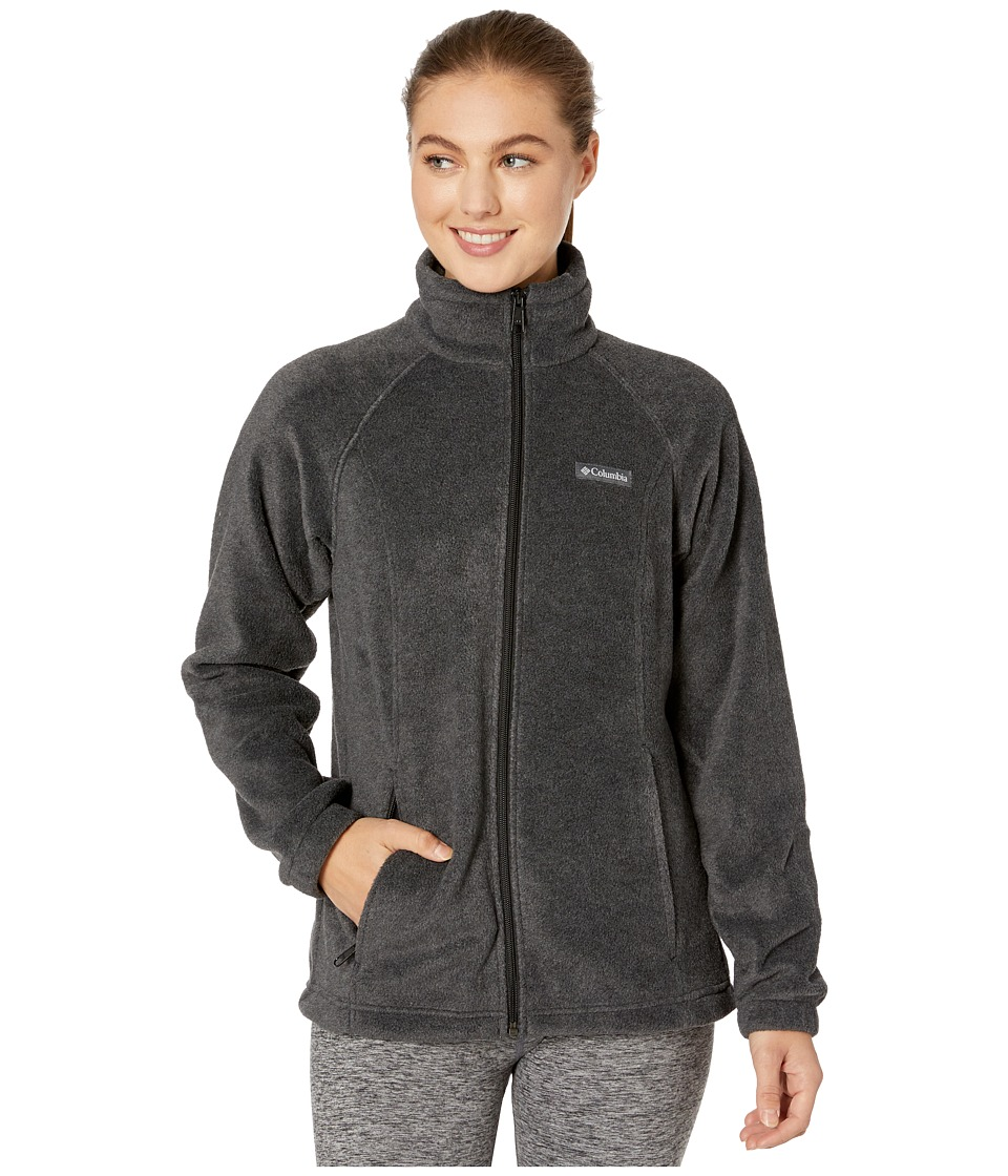 Columbia Benton Springstm Full Zip (Charcoal) Women