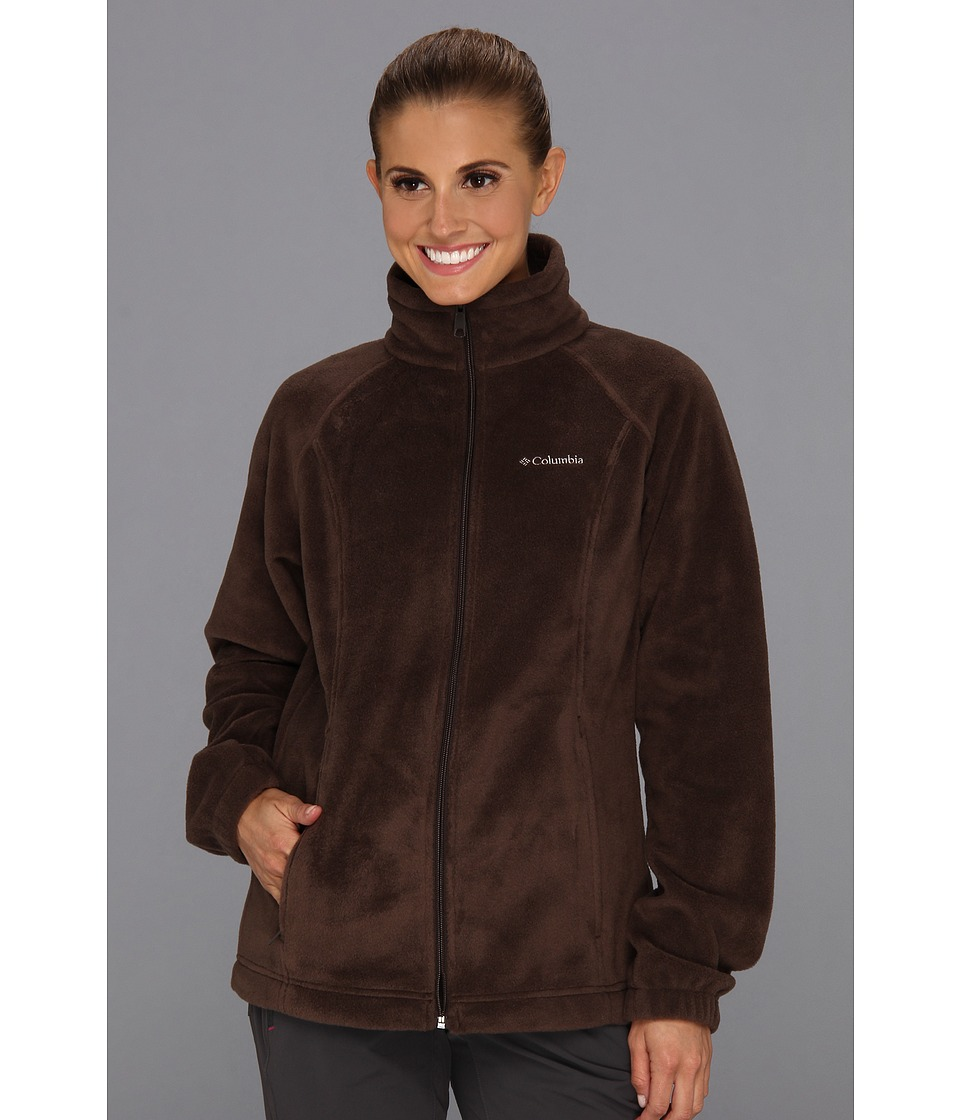 Columbia - Benton Springs Full Zip (Bark) Women's Jacket