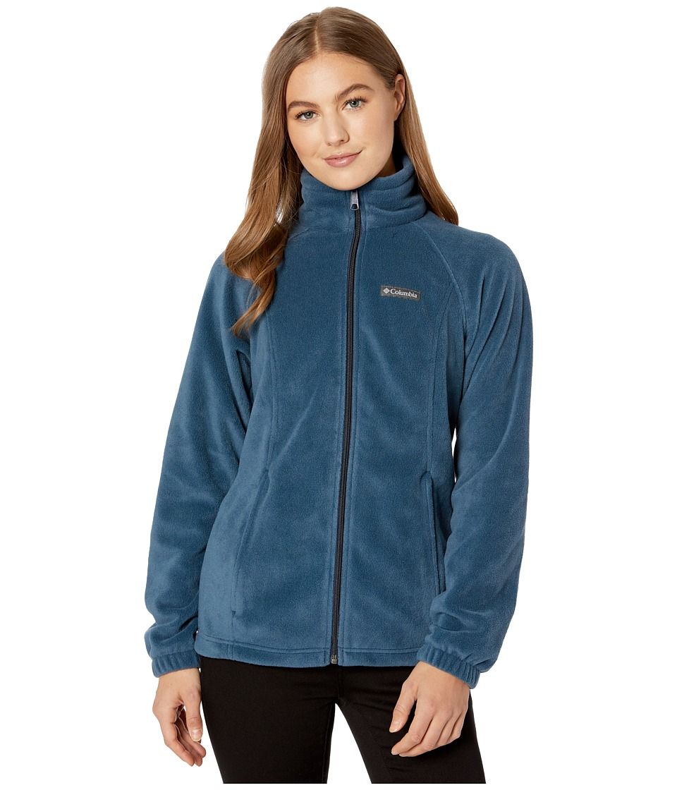 Columbia - Benton Springs Full Zip (Columbia Navy) Women's Jacket