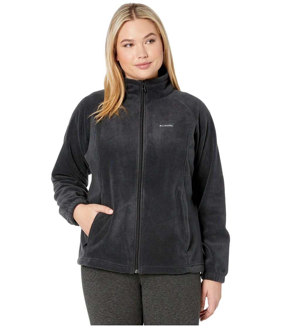 Columbia - Benton Springs Full Zip (Black) Women's Coat