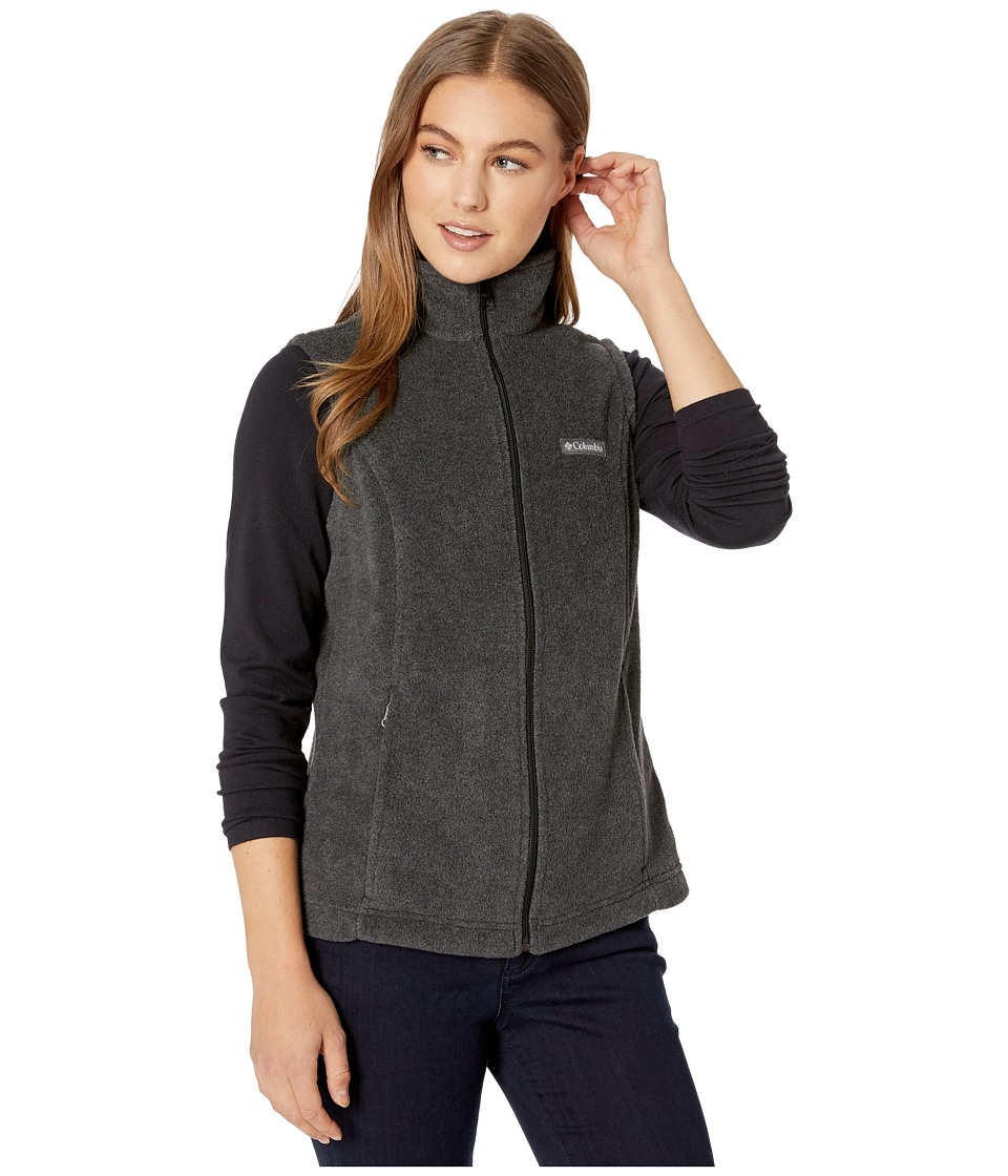 Columbia - Benton Springs Vest (Charcoal) Women's Vest