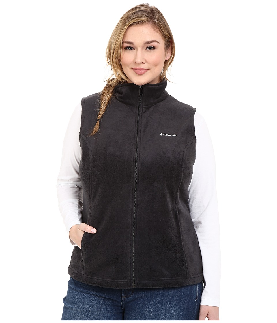 Columbia - Benton Springs Vest - 1XL-3XL (Black) Women's Jacket