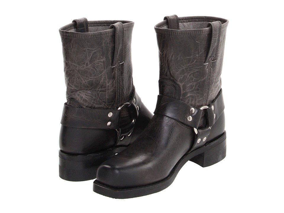 Frye - Harness 8R (Charcoal Old Town) Men