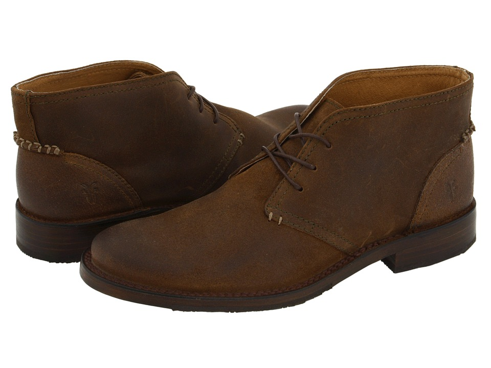 Frye - Oliver Chukka (Fatigue Suede) Men's Lace up casual Shoes