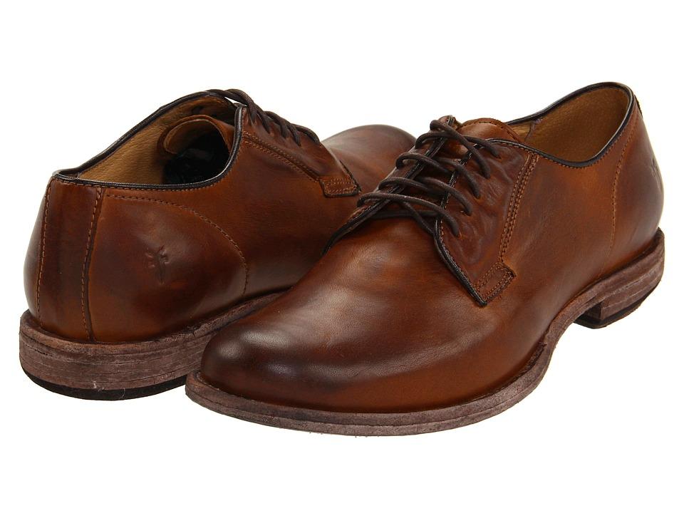 Frye - Phillip Oxford (Cognac Vintage Leather) Men