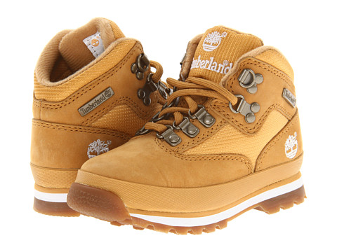 Timberland Kids - Euro Hiker (Infant/Toddler) (Wheat/Wheat) Boys Shoes