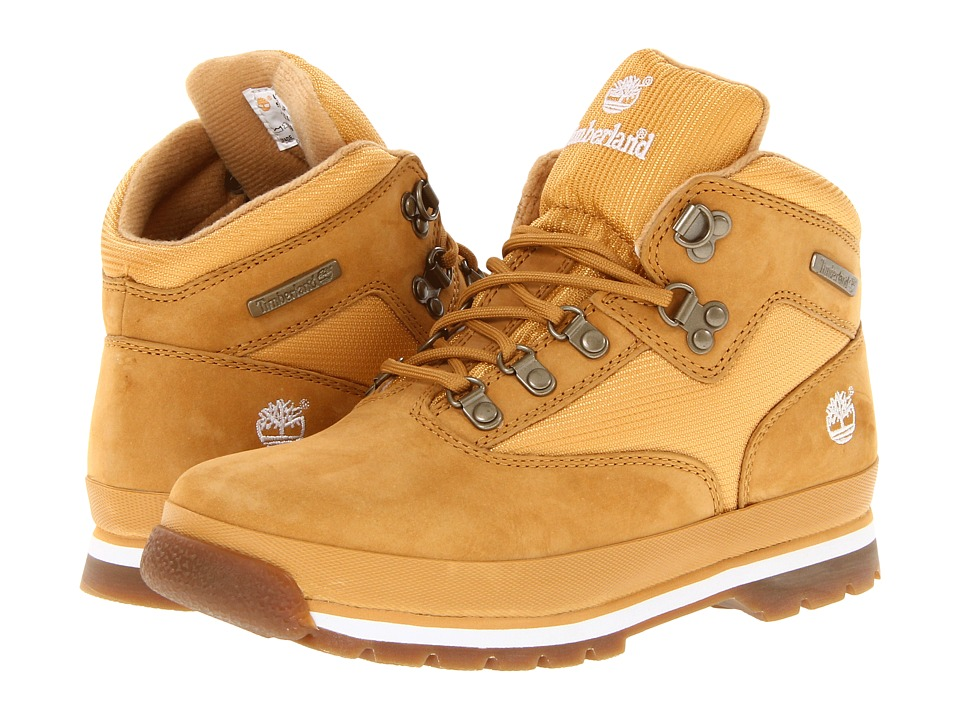 Timberland Kids - Euro Hiker (Youth 2) (Wheat/Wheat) Boys Shoes