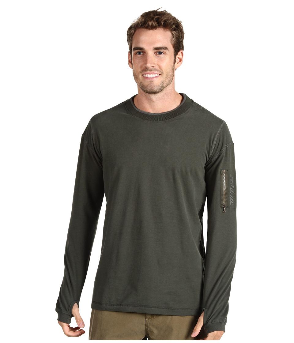KUHL - Kommando Crew (Olive) Men's Long Sleeve Pullover