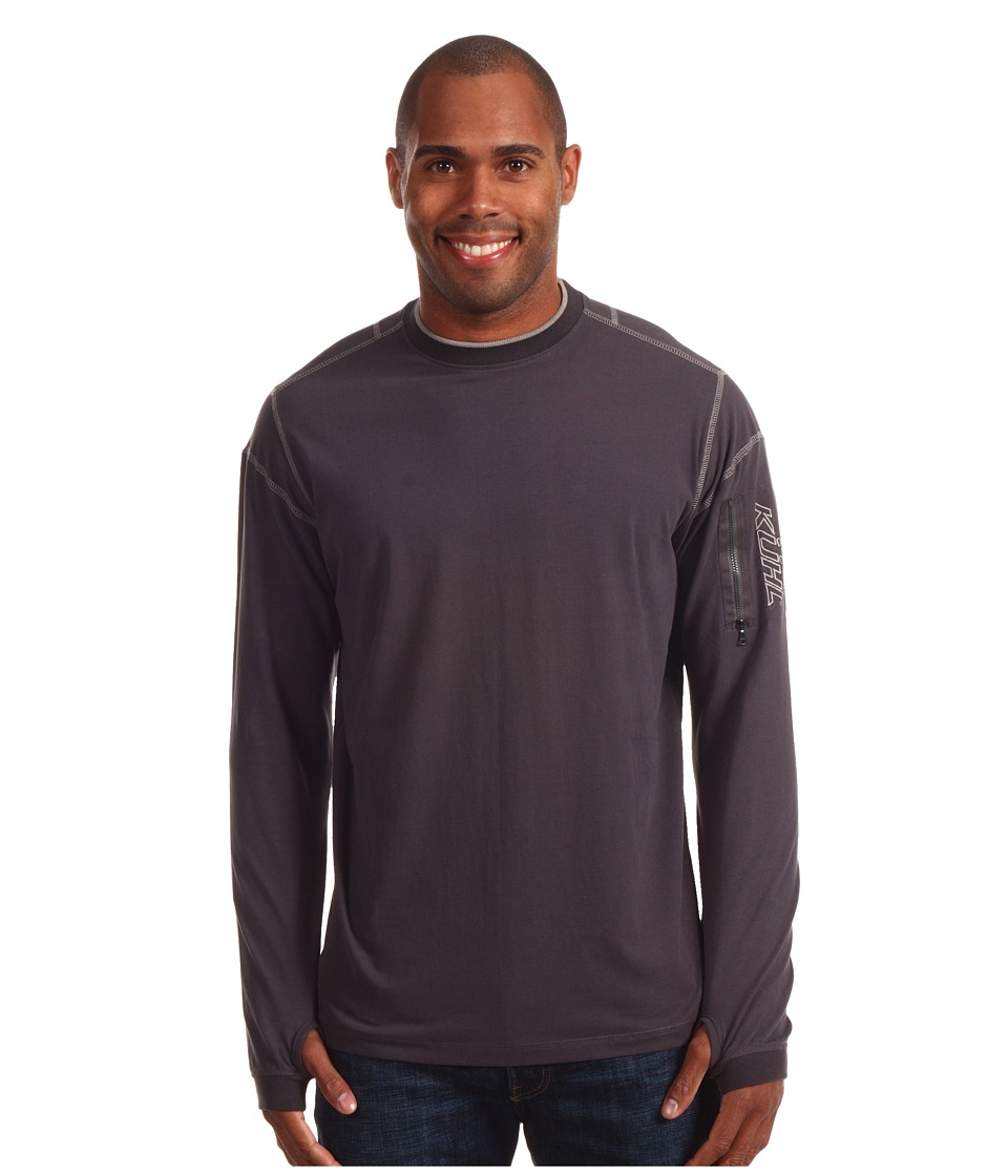 KUHL - Kommando Crew (Graphite) Men's Long Sleeve Pullover