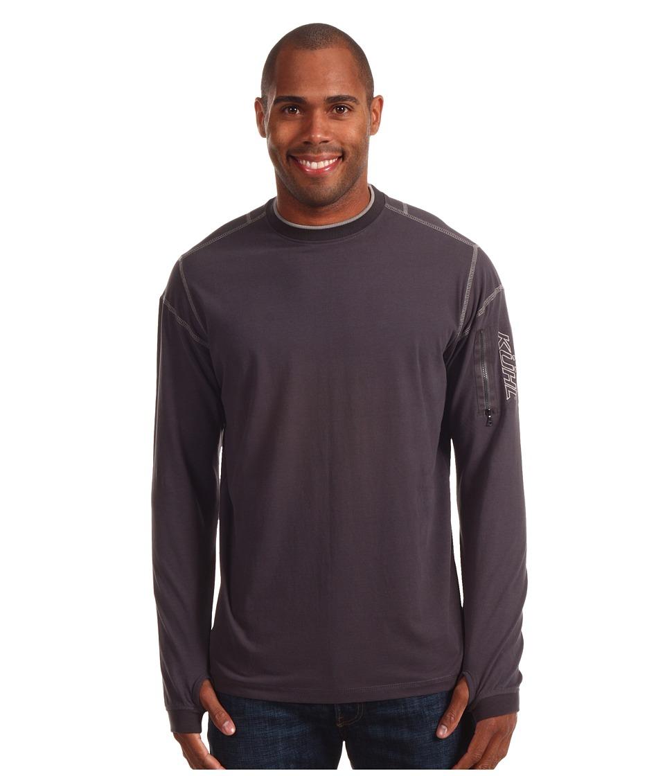KUHL - Kommando Crew (Graphite) Men's Long Sleeve Pullover